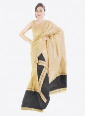 Staple Cotton Plain Mekhela Chador