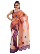 Dual Tone Shaded Mekhela Chadar