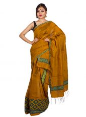Copper Brown Mishing Mekhela Chadar