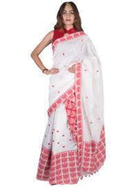 Gamusa Style Cotton Mekhela Chadar
